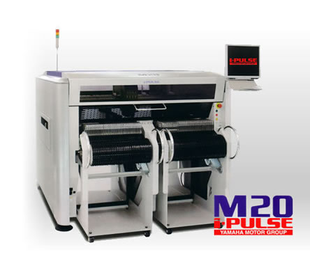 Yamaha M20 – Pick and Place Machine with Small Footprint
