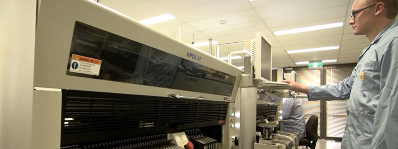 Case Study - Rapier Electronics - New SMT line Installed in Australia
